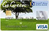 Green VISA card